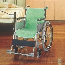 ケアメデイックス 車椅子 シートカバー 防水 2枚入 グリーン