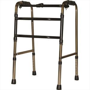 アクションジャパン 交互式歩行器コンパクトタイプ ブロンズ 非 高齢者 老人 介護用