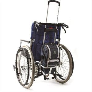 ナンブ ボンベ楽(ラック) 携帯用酸素ボンベを車椅子に装着