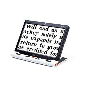 システムギアビジョン クローバー10 ルーペ 拡大鏡 虫眼鏡 電子ルーペ 拡大読書器 携帯型 軽量 コンパクト 非課税【メーカー直送/代引き不可商品です】