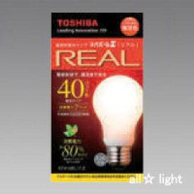 ☆東芝 電球形蛍光ランプ(蛍光灯) ネオボールZリアル 40W形 A形 3波長形電球色 E26口金 EFA10EL7Z