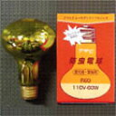 ☆アサヒ 防虫電球 40W(被膜付・防滴用) E26口金