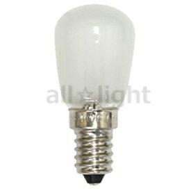 ☆アサヒ ナツメ球(豆球) ナシ型白熱ランプ ST28 E14口金 フロスト 15W  ST28E14110V15WF