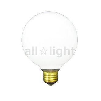 ☆ Asahi white ball E26 mouthpiece diameter 95 mm (G95) 100W 100V-GW-95 W/95