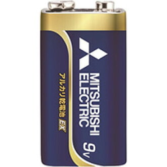 ☆ 3 Mitsubishi POWER alkaline EX alkaline battery 9 V type 6LR61EXJ1S