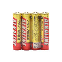☆三菱 アルカリ乾電池 アルカリ単4電池 [4個入り] LR03R4S