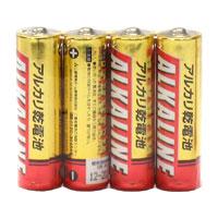 ☆三菱 アルカリ乾電池 アルカリ単3電池 [4個入り] LR6R4S