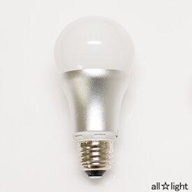 ☆ODELIC LED電球(LEDランプ) 一般電球形 広配光形 専用調光器対応 電球色(2700K) 白熱電球60形相当(60W形相当) E26口金 No255K(LDA8LGD)