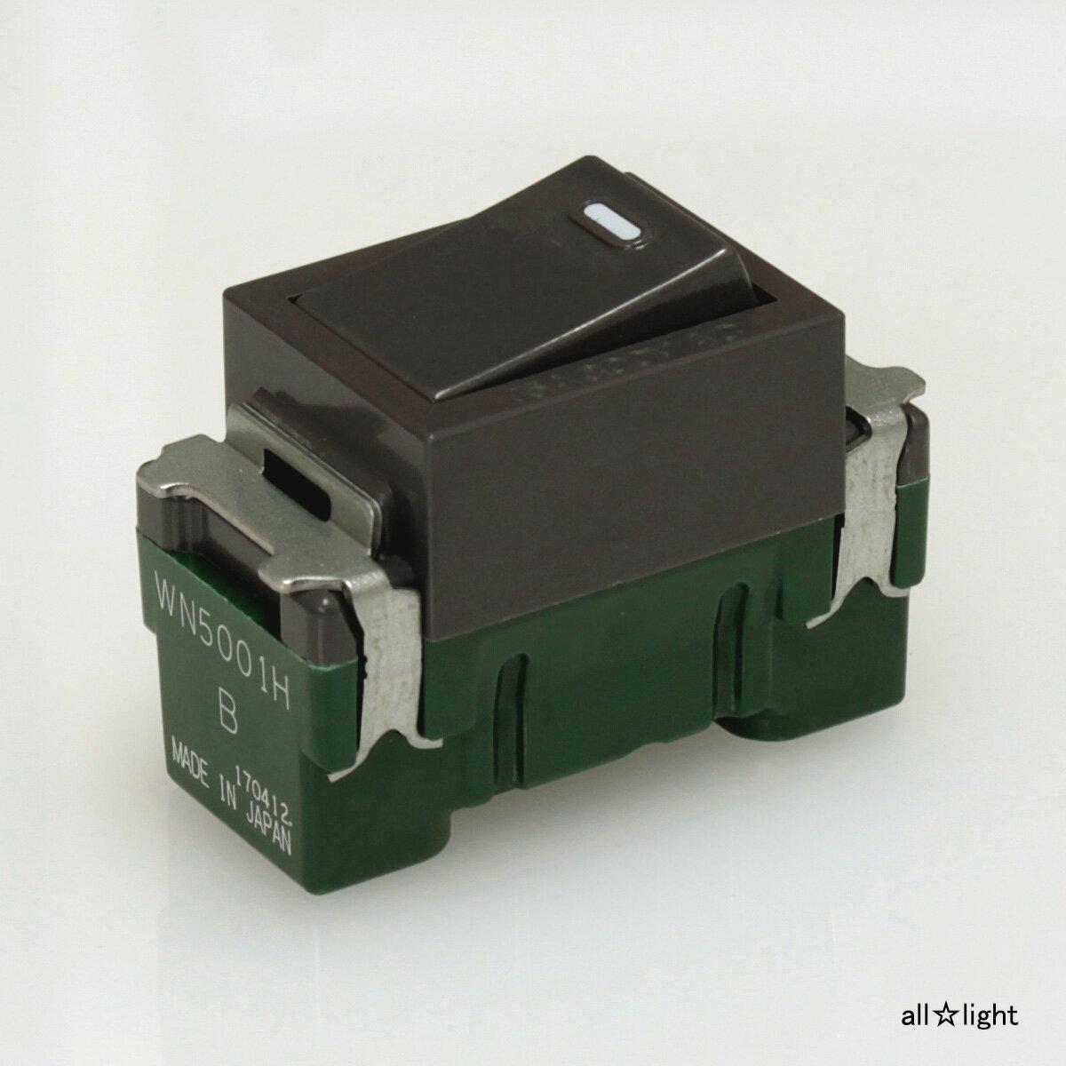 ☆パナソニック フルカラースイッチ 埋込スイッチB(片切) 15A 300V グレー WN5001H
