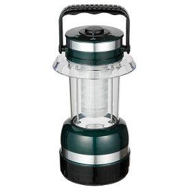 ☆ELPA LEDコンパクトランタン 防水仕様IPX4(防沫形) 屋内・屋外兼用 明るさ:43lm 白色LED 電池:単1形4本(別売) DOPL009L