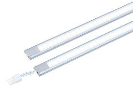 ☆TES LIGHTING LED棚下照明 9.5mmラインバー TRI−931 300タイプ 片側コネクタ 本体寸法855mm 昼白色 5700K TRI9319057