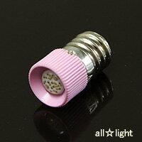 ☆★ 表示灯用発光ダイオード(LED電球) AC/DC24V 8.5mA E12口金 LED24R8.5E1201