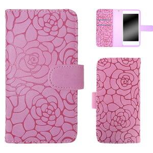 AQUOS PHONE Xx mini 303SH ケース スマホケース アクオス フォン ダブルエックス ミニ 手帳型 レディース かわいい 携帯 花 フラワー マグネットベルト ツバキ Camellia オーダー カメリアエンボス AM_O