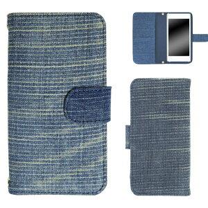 AQUOS PHONE Xx mini 303SH ケース スマホケース アクオス フォン ダブルエックス ミニ 手帳型 スマホカバー ダメージデニム生地スマホケース ダメージ加工 オーダー ダメージデニム AM_OD_S