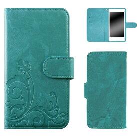 isai Vivid LGV32 ケース スマホケース イサイ ビビッド 手帳型 スマホカバー 携帯 カバー マグネット スタンド 大人 かわいい シンプル オーダー エンボスデザイン AM_OD_L