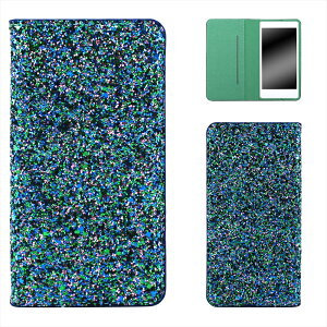 AQUOS PHONE Xx mini 303SH ケース スマホケース アクオス フォン ダブルエックス ミニ 手帳型 ベルトなし スマホカバー ベルトレス オーダー ギャラクシーラメ AM_OD_S