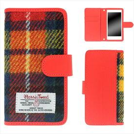 iPhoneXR ケース スマホケース アイフォンテンアール 手帳型 Harris Tweed ハリスツイード マグネット カードポケット ベルト付き スタンド カバー オーダー ハリスツイードカバー AM_OD_L