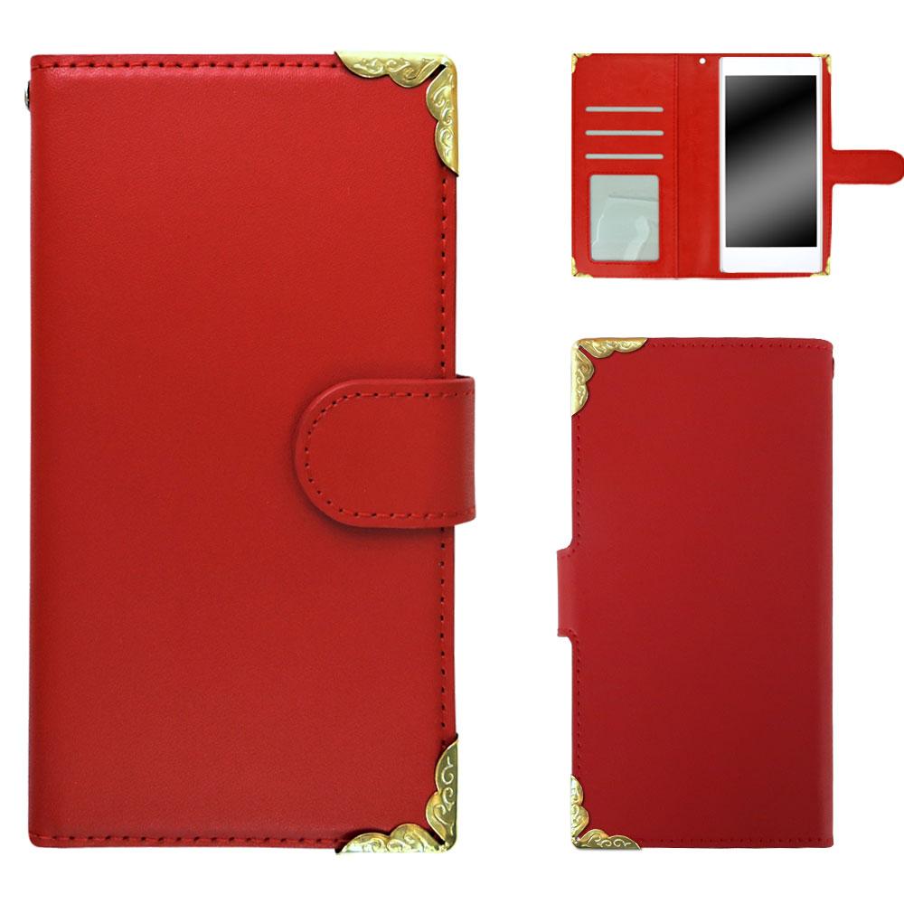 ZenFone Max (M1) ZB555KL ケース スマホケース 手帳型 スマホカバー 本皮 革 デコレーション デコレート decoケース オーダー 本革デコ AM_OD_L
