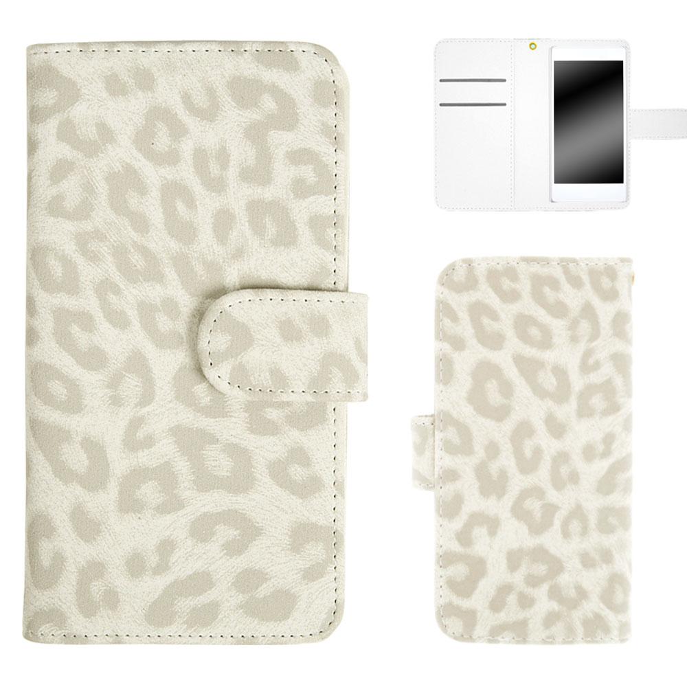 HTC U12+ 手帳 スマホ 手帳型 ヒョウ柄 豹柄 レディース レオパード アニマル柄 携帯 オーダー ヒョウ柄 AM_OD_LL