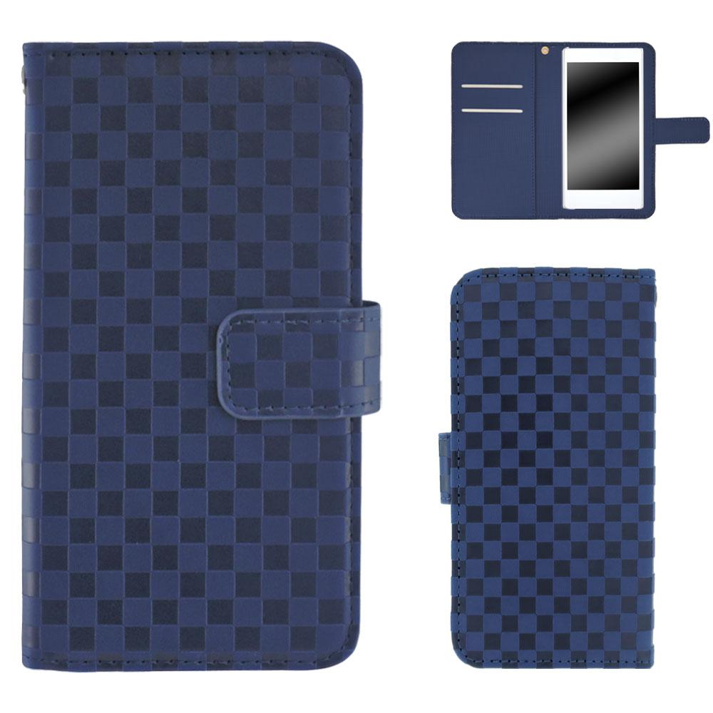 HTC U12+ ケース スマホケース 手帳型 市松模様 手帳型 ストラップ マグネット ベルト付き カバー オーダー 市松柄 AM_OD_LL