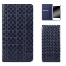 Huawei Mate 10 Pro BLA-L29 ケース スマホケース ファーウェイ メイト テン プロ 手帳型ベルトなしタイプ ベロなし マグネット ストラップ オーダー ベルトなし 市松柄 AM_OD_LL