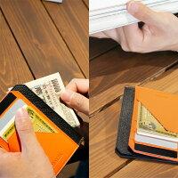 牛革極小財布ミニマリスト財布ウォレットイン薄型カードケース小さい財布小銭入れウォレットイン薄型カードケースMALTAブランド薄型薄いミニ財布レザーレディースメンズカード入れ送料無料