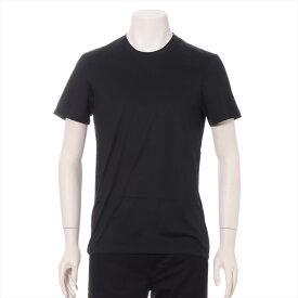 【中古】ディオール コットン ロングTシャツ 46 メンズ ブラック BEE刺繍 アンダーウエア