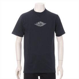 【中古】ディオール×ナイキ 20SS コットン Tシャツ XS メンズ ネイビー AIR DIOR M C&S Top