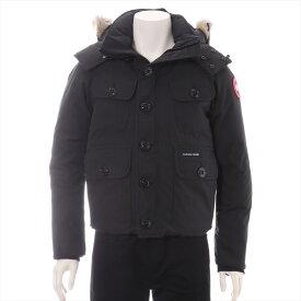 【中古】カナダグース RUSSELL コットン×ポリエステル ダウンジャケット XS メンズ ブラック 2301JM サザビー