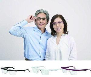 ドゥー ライフワン!近視も遠視も老眼もすべてに対応するメガネ!