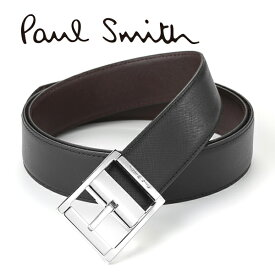 [ポールスミス]PAUL SMITH リバーシブルベルト(ピンタイプ) PS-615 【あす楽対応_関東】【ポールスミスベルト ブランドベルト メンズ レザーベルト シルバー クリスマス プレゼント】