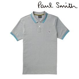 2020春夏モデル[ポールスミス]PAUL SMITH ポロシャツ(グレー) PS-671 【半袖 メンズ クールビズ ゼブラ プレゼント父の日バレンタインクリスマス】【あす楽対応_関東】