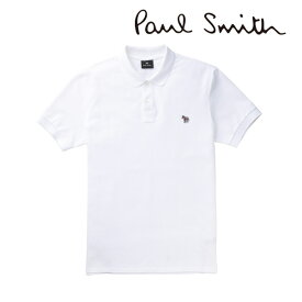 2020春夏モデル[ポールスミス]PAUL SMITH ポロシャツ(ホワイト) PS-666 【半袖 メンズ クールビズ ゼブラ プレゼント父の日バレンタインクリスマス】【あす楽対応_関東】