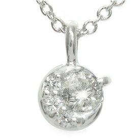 【送料無料】ダイヤモンド ネックレス 月 太陽 ペンダント プラチナ900 チャーム レディース ユニセックス 誕生日 2021 記念日 母の日 プレゼント pt900 4月 誕生石