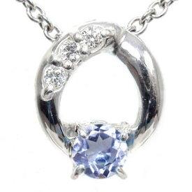 タンザナイト ネックレス k18ホワイトゴールド ダイヤモンド オーバル レディース ユニセックス 誕生日 2019 記念日 母の日 プレゼント 12月 誕生石 キャッシュレス ポイント還元