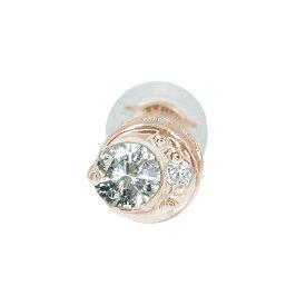 【ポイント5倍】9日20時〜16日1時まで 月 太陽 地球 ダイヤモンド 片耳ピアス 18金 誕生石 買いまわり 買い回り