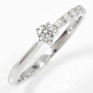結婚指輪・婚約指輪 ピンキーリング ダイヤモンド 10金 指輪 一粒 流れ星 ギフト 贈り物 母の日 プレゼント 自分へのご褒美に 大切な方に【送料無料】