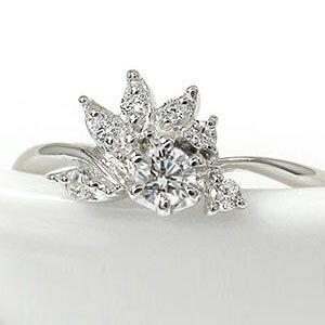 【送料無料】プラチナリング ダイヤモンド 誕生石 結婚指輪 婚約指輪 エンゲージリング 光輪 太陽 陽光 ピンキーリング