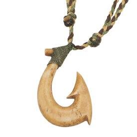 ボーンカーヴィング 本格ポリネシアン 手彫りのボーン アンティークボーン