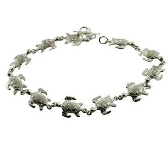 Hawaiian jewelry 14k ゴールドリアルミニホヌブレスレットブレスレット
