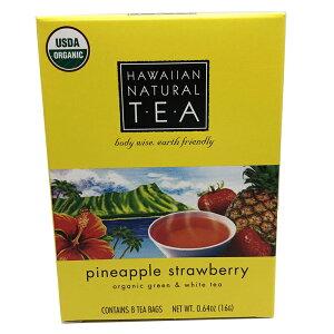 ハワイアンナチュラルティー ハーブティー ハワイの紅茶 パイナップルストロベリー 爽やかで甘い香り パイナップル ストロベリーティー ギフトに最適