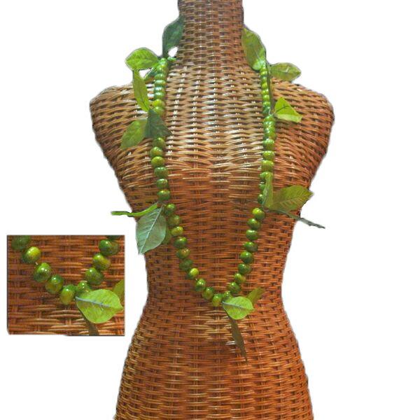 ハワイアン レイ フラ フラダンス衣装 フラワーレイ モキハナレイ リアルモキハナとマイレが入ったショートレイ