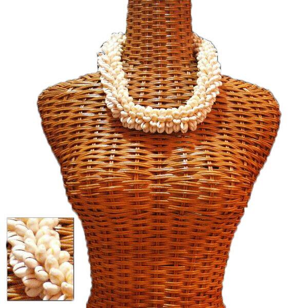 ハワイアン レイ フラ フラダンス衣装 シェルレイ クロゥリーシェルロセッタチョーカー