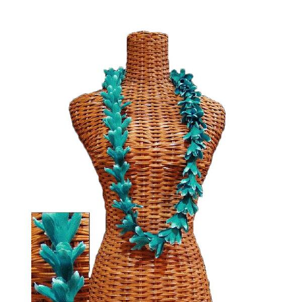 ハワイアン レイ フラ フラダンス衣装 フラワーレイ アイランドチューブローズレイ ティール