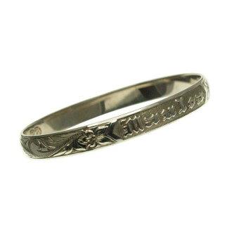 夏威夷人珠宝手镯手镯本格定做银子手镯桶稳重的2.0mm厚8mm能选的设计以及样式人分歧D Fra手雕刻刻图章夏威夷袖口银子925 5.5英寸~9英寸订货