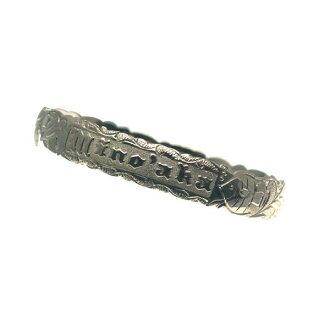 夏威夷人珠宝手镯手镯若干本格定做银子手镯桶偏淡的1.5mm厚12mm能选的设计以及样式人分歧D Fra手雕刻刻图章夏威夷制造袖口银子925 5.5英寸~9英寸订货