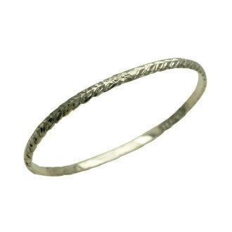 夏威夷人珠宝手镯手镯本格定做银子手镯桶稳重的2.0mm厚4mm能选的设计以及样式人分歧D Fra手雕刻刻图章夏威夷袖口银子925 5.5英寸~9英寸订货