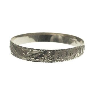 夏威夷人珠宝手镯手镯本格定做银子手镯桶可靠的1.75mm厚10mm能选的设计以及样式人分歧D Fra手雕刻刻图章夏威夷制造袖口银子925 5.5英寸~9英寸订货