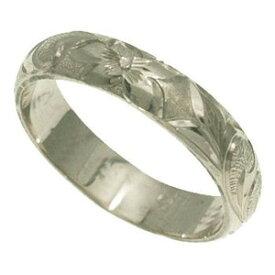 ハワイアンジュエリー リング 指輪 オーダーメイド 1.75mm厚 幅4cm バレルリング メンズ レディース シルバー925 ハワイ製 手彫りリング 0号-28号