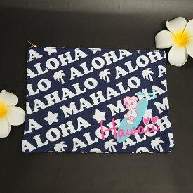 送料無料!サマンサタバサ ハワイ限定 クラッチ バッグ可愛いデザイン、ハワイデザイン♪ノベルティでもらったピンクのショッピングトートも一緒にお届け♪※在庫限り!完売後の次回入荷なし!※北海道・九州は1万円以上で送料無料!(沖縄のぞく)